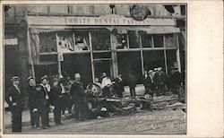 Loper's Cafe Race Riot, August 14, 1908 Postcard