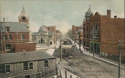 Charlotte Street, Looking South Postcard