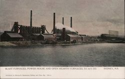 Dominion Iron and Steel Company Postcard