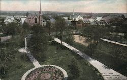 View from Normal School Postcard
