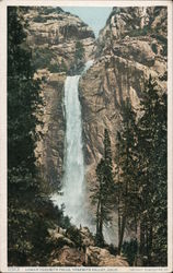 Lower Yosemite Falls, Yosemite Valley