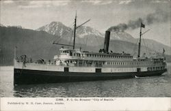 "P.C. Company Steamer ""City of Seattle"""