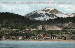 Treadwell Mill and Mine, Largest Stamp Mill in the World Postcard