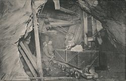 Loading Ore Train in Treadwell Mine