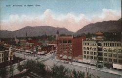 Panorama of Ogden, Utah Postcard