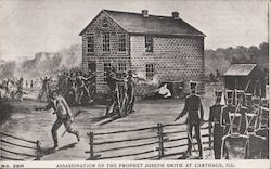 Assassination of the Prophet Joseph Smith Postcard