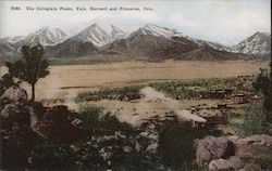 The Collegiate Peaks, Yale, Harvard and Princeton, Colo