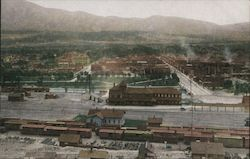 Birdseye View of Salida Postcard