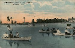 Boating and Fishing at Lake Idlewild