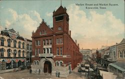 Market House and Market Square Postcard