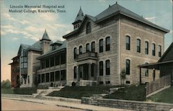 Lincoln Memorial Hospital and Medical College Postcard
