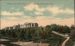 Western State Normal School, showing Incline Postcard