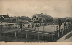 Siasconset Casino and Tennis Courts Postcard