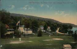 Lake Bomoseen Tennis Court and Cottages Point of Pines