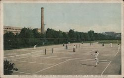 Tennis Courts for Employees, The National Cash Register Co.