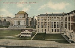 Columbia University and Grounds Postcard