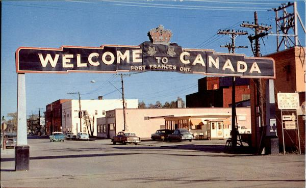 Welcome To Canada Fort Frances Ontario