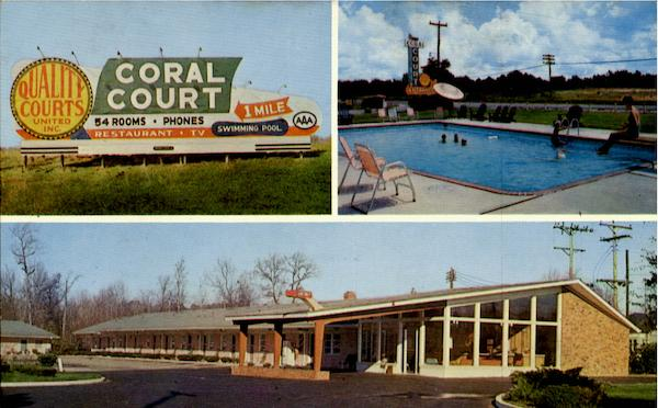 Coral Court Motor Lodge & Restaurant Rocky Mount North Carolina