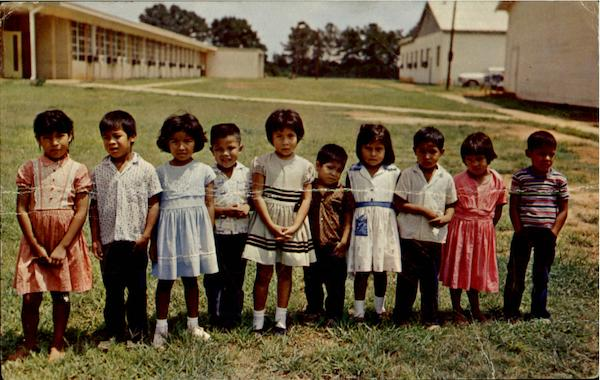 Ten Little Choctaw Indians Native Americana
