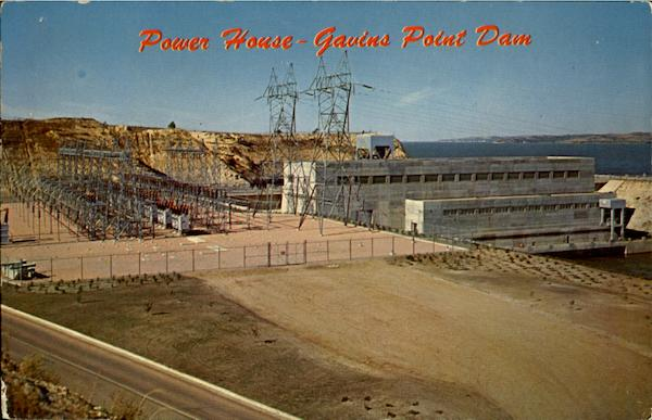 Power House Gavins Point Dam Yankton South Dakota