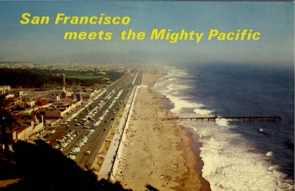 San Francisco Meets The Might Pacific California