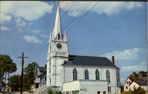 Congregational Church Machias Maine