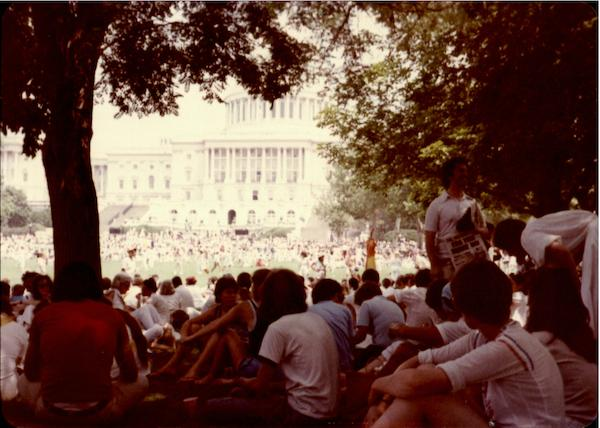 1970's March on Washington District of Columbia