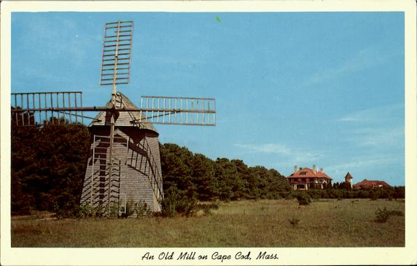 An Old Mill Cape Cod Massachusetts
