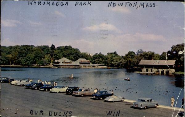 Public buildings. Newton, MA. Norumbega Park, Auburndale