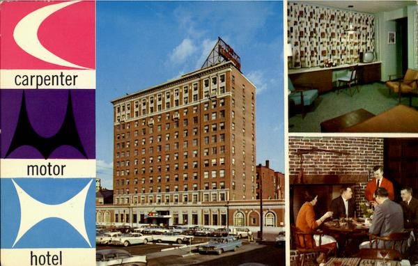 Carpenter Motor Hotel Manchester New Hampshire