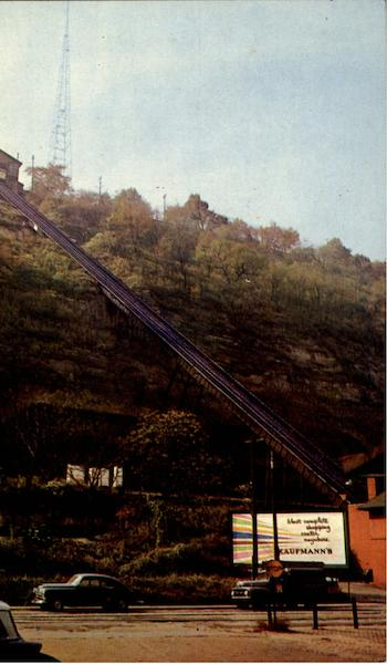 Monongahela Inclined Plane Pittsburgh Pennsylvania