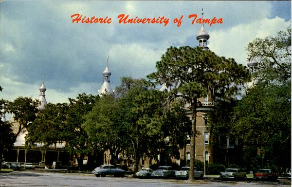 Historic University Of Tampa Florida