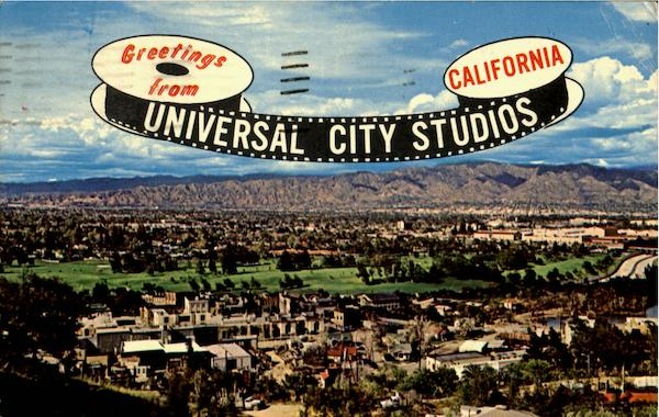 Greetings From Universal City Studios California