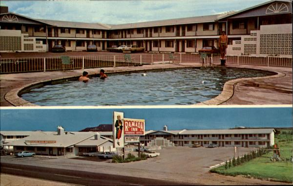 Ramada Inn, US Hi Way 66 & 54 Tucumcari New Mexico
