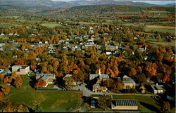 Aerial View Of Poultney