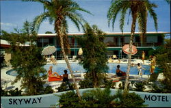 Skyway Motel, 6700 - 34th Street South Postcard