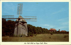 An Old Mill Postcard
