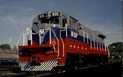 Metro - North 806 Postcard