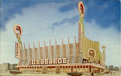 The All New Horseshoe Hotel And Casino Postcard