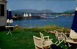 View From The Moorings Postcard