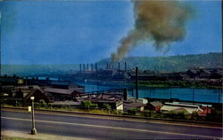 The Steel Mills Of Pittsburgh