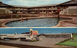 Ramada Inn, US Hi Way 66 & 54 Postcard