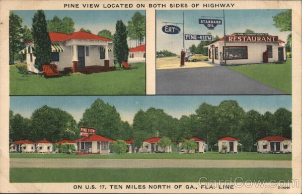 Pine View Located on Both Sides of Highay Woodbine Georgia