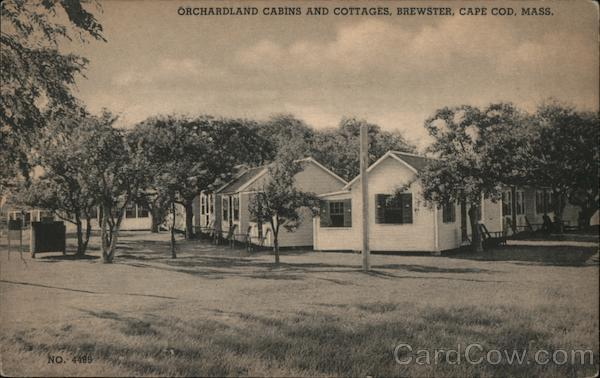 Orchardland Cabins and Cottages Brewster Massachusetts
