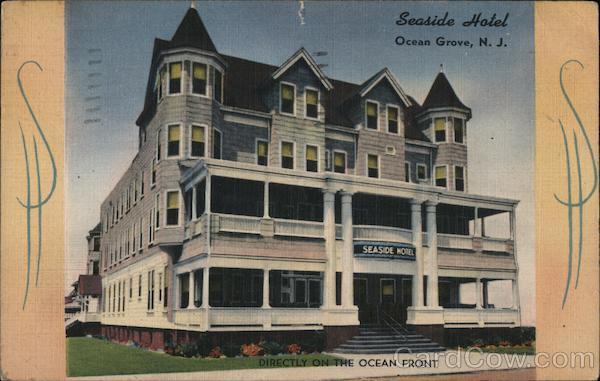 Seaside Hotel Ocean Grove New Jersey