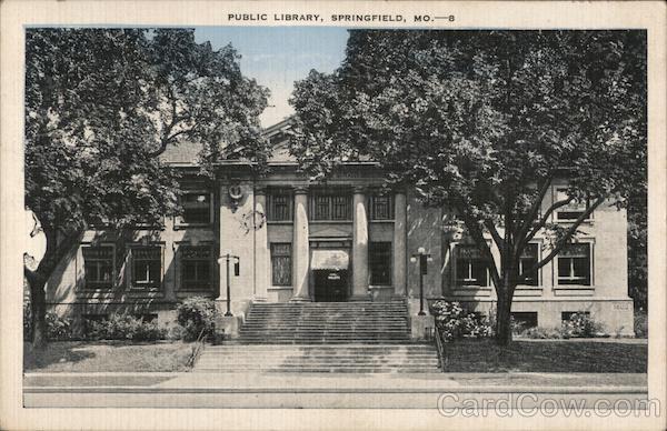 Public Library Building Springfield Missouri