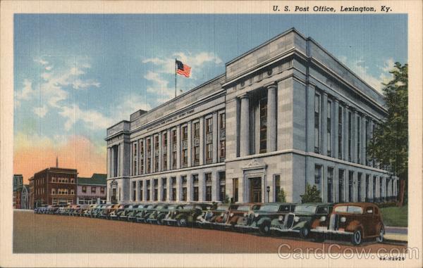 U. S. Post Office Lexington Kentucky