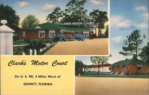Clark's Motor Court Quincy Florida