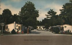 Beverly Court Postcard