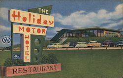The Holiday Motor Hotel Restaurant